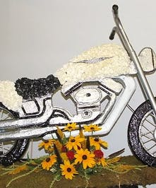 Motorcycle Set Piece