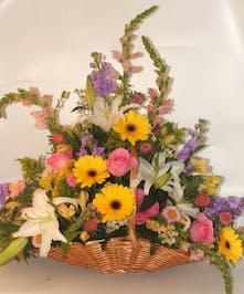 Natural Wonder Fireside Basket