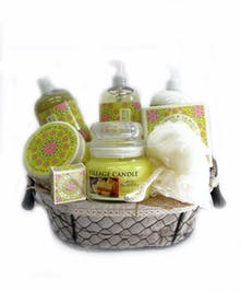 Luxurious Lemon Spa Basket