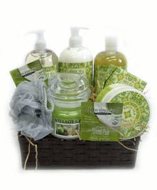 White Tea Calendula Spa Basket