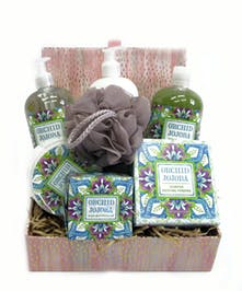 Orchid Jojoba Spa Basket